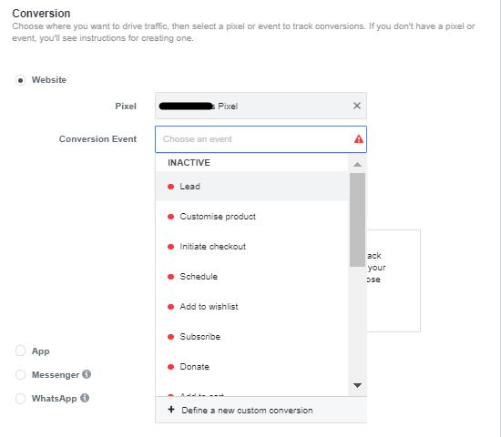 optimize custom conversions