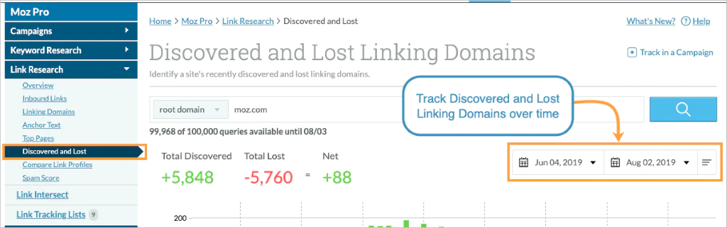 How to reclaim lost links